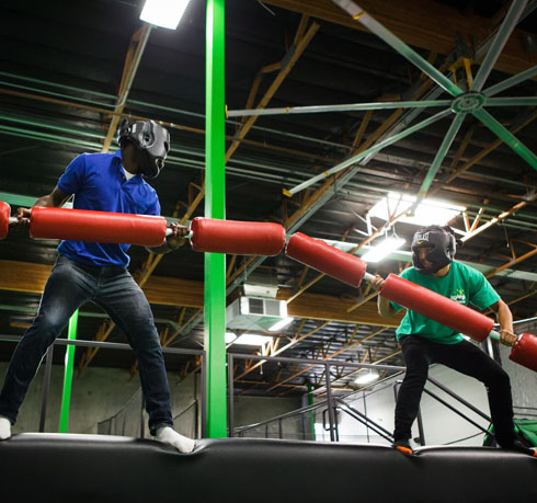 Jump Around Now - Trampoline Park, Aerial Attractions, Parties