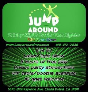 Jump Around Friday Night Under The Lights